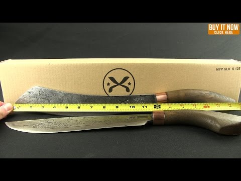 "My Parang 12"" Heavy Duku Chandong Machete + Nylon Sheath"