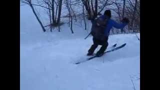 preview picture of video 'TripLevé - Ski nordique tremplin Mt Royal UdeM - Christine - 150320'