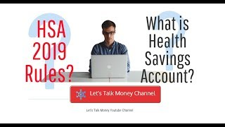 2019 Health Savings Account rules and contributions ✅ #HSA #taxes