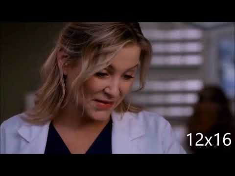 Grey's Anatomy - All Calzona Scenes - Season 12