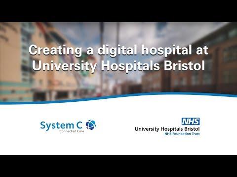 Creating a digital hospital at University Hospitals Bristol
