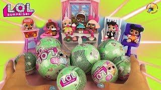 ЛОЛ СЮРПРИЗЫ 2 серия Куклы малышки в шариках Игрушки для девочек L.O.L. Surprise 2 Ball