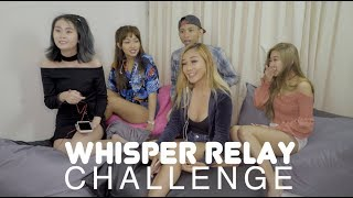 WHISPER RELAY CHALLENGE (LOSER EATS CRAZY AMOUNT OF WASABI)
