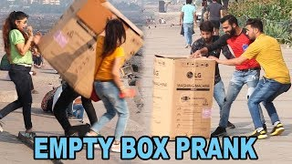 Empty Box Prank : What Happens When Our Anchor Hides In An Empty Box | Baap Of Bakchod