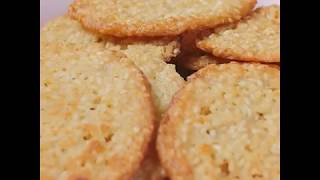 Быстрый и легкий рецепт кунжутного печенья