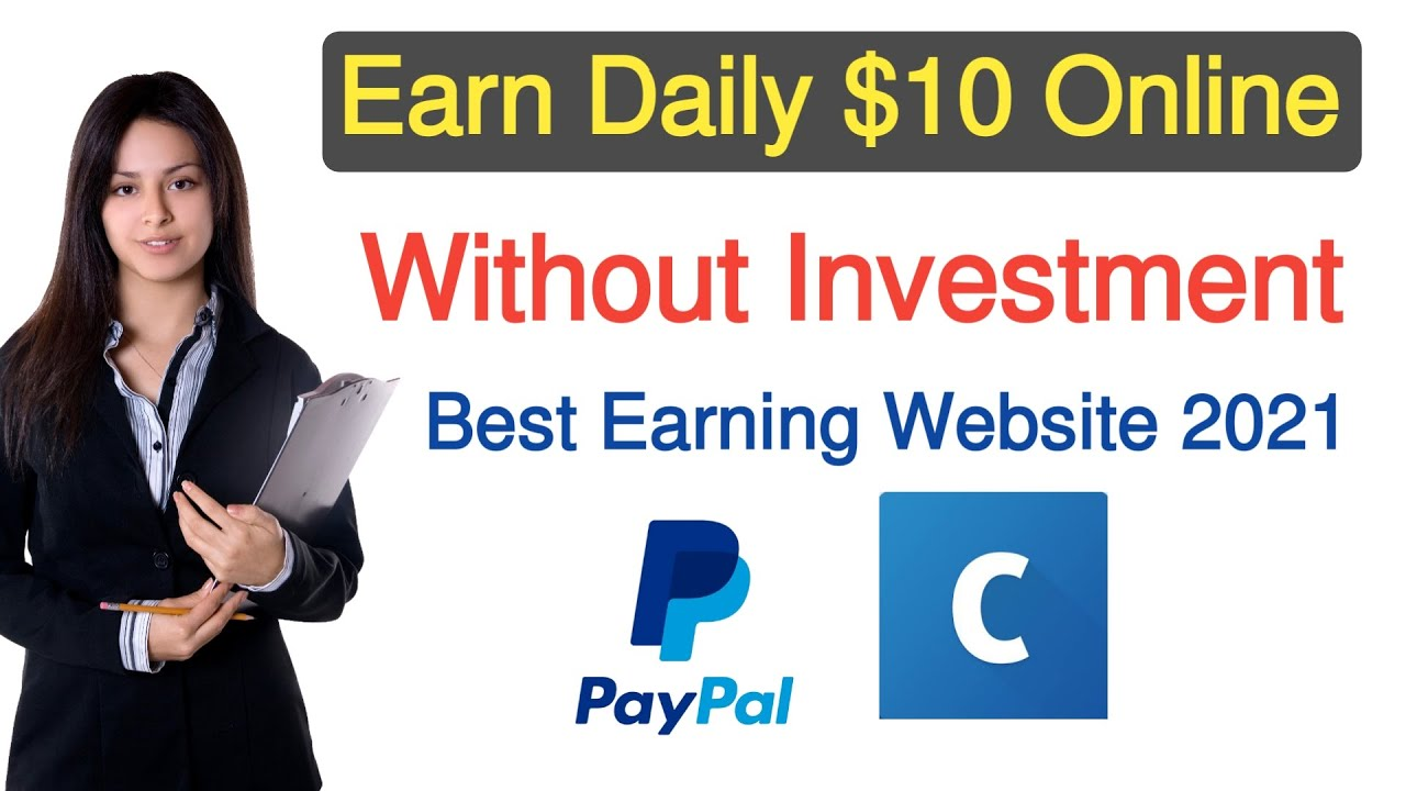 How to make money online without financial investment 2021|Earn money online without financial investment thumbnail