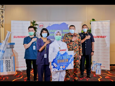 Injecting Hope – Sunway Steps Up to Keep the Nation Safe