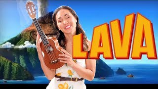 Lava - EASY Ukulele Tutorial with Play Along