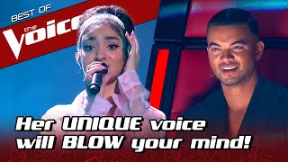 16 Year Old SURPRISES Everyone With Her UNIQUE Sound In The Voice