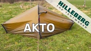 Hilleberg Akto Tent - Setup & Look Around