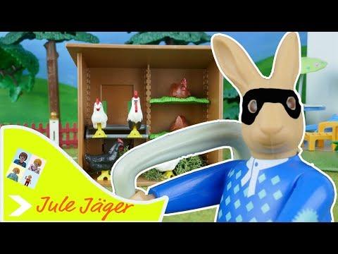 Playmobil Film deutsch - Wer ist der Eierdieb? - Kinderfilm mit Jule Jäger