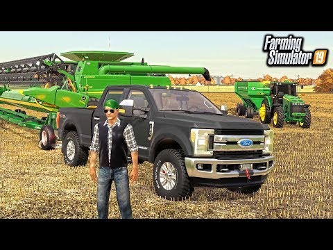 GEARING UP FOR SOYBEAN HARVEST! (MULTIPLAYER ROLEPLAY)   FARMING SIMULATOR 2019