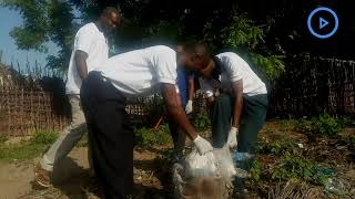 Members of SDA church clean-up Orma inhabited Mnazi village
