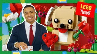A LEGO PUPPY? Best LEGO SETS for Valentine's Day 2019! LEGO Movie 2 Rexcelsior, LEGO City Burger Bar