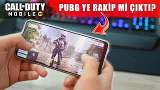Call Of Duty Mobile !! Pubg Mobile Kadar Güzel mi?