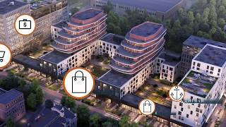 Presentation of apartment complex Viking Park