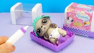 УДОЧЕРИЛИ ПИТОМЦА, ИЩЕМ СЮРПРИЗ В ПОДГУЗНИКЕ Куклы Беби Элайв Игрушки Для детей IkuklaTV