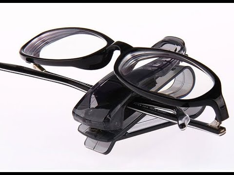 Honana HN-CH001 Portable Car Sunglass Holder Multifunctional