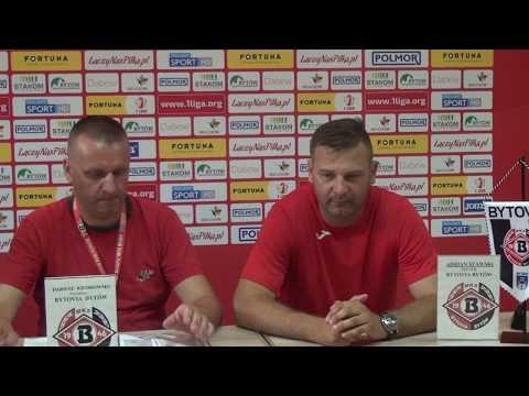 Konferencja prasowa po meczu Bytovia Bytów - Stomil Olsztyn