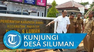 Wakil Menteri Desa Budi Arie , Berkunjung di Desa Siluman Subang, Jawa Barat