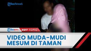 Viral Video Muda-mudi Mesum di Sebuah Taman di Kalimantan Selatan, Aparat Lakukan Penyidikan