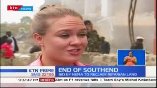 Bulldozers roared towards Southend mall following warnings by Nema