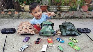 Trò Chơi Bé Vui Xe Nhỏ Sân Nhà ❤ ChiChi ToysReview TV ❤ Đồ Chơi Trẻ Em Baby Fun SOng Bài Hát