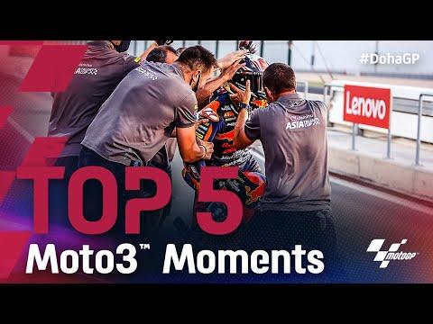 Moto3 2021 第2戦ドーハGP 決勝レースをハイライト動画