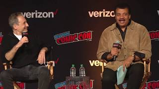 StarTalk @ NY Comic Con: It's About Time! (Brian Greene & Neil deGrasse Tyson)
