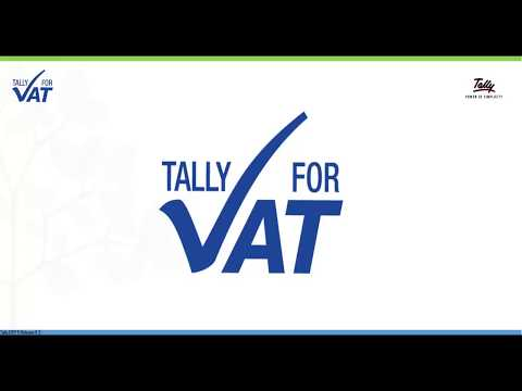 Getting Started With GCC VAT Using Tally.ERP 9