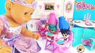 Беби БОН играет с ЛОЛ Куклы ЦВЕТЫ в домиках! СЮРПРИЗЫ BLUME мультики для девочек