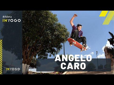 Angelo Caro Skateboarding