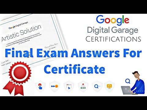 Fundamentals of Digital Marketing Final Exam Answer l Google ...