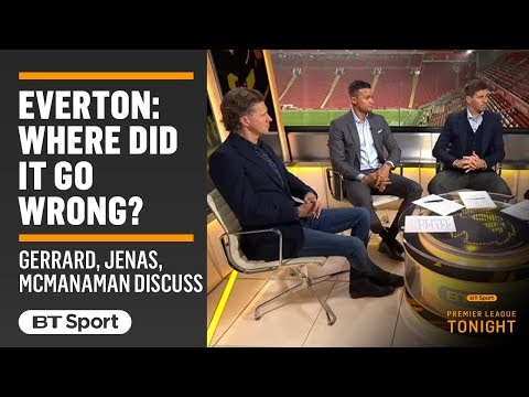 Where and how has it all gone so wrong for Everton?! Gerrard and co discuss...