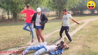 TOP NEW FUNNY COMEDY VIDEO 2020 Try Not To Laugh Challenge New Non-Stop Video   By Bindas Fun Masti
