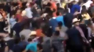 BATALLA CAMPAL, durante las fiestas tradicionales de Ciudad Insurgentes