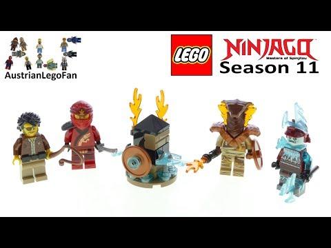 Vidéo LEGO Objets divers 40342 : Pack de figurines – LEGO Ninjago 2019