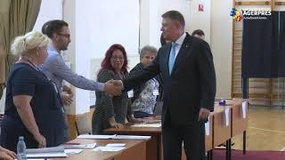 #Prezidenţiale2019/Iohannis: Am votat pentru România normală