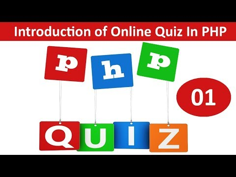 introduction of online quiz website in php and mysqli
