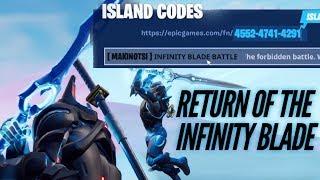 Download Infinity Blade Island Code in Fortnite Creative