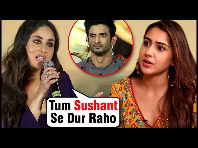 Kareena Kapoor NOT HAPPY With Sara Ali Khan Dating Sushant Singh Rajput?