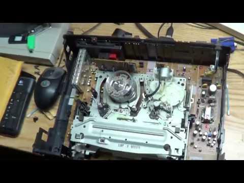 VCR General Repair (Belt Replacement)
