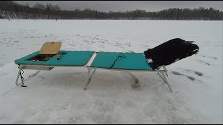 Зимний лежак в палатку