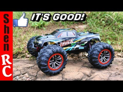 HOSIM 9125 DUAL MOTOR 4×4 RC MONSTER TRUCK REVIEW
