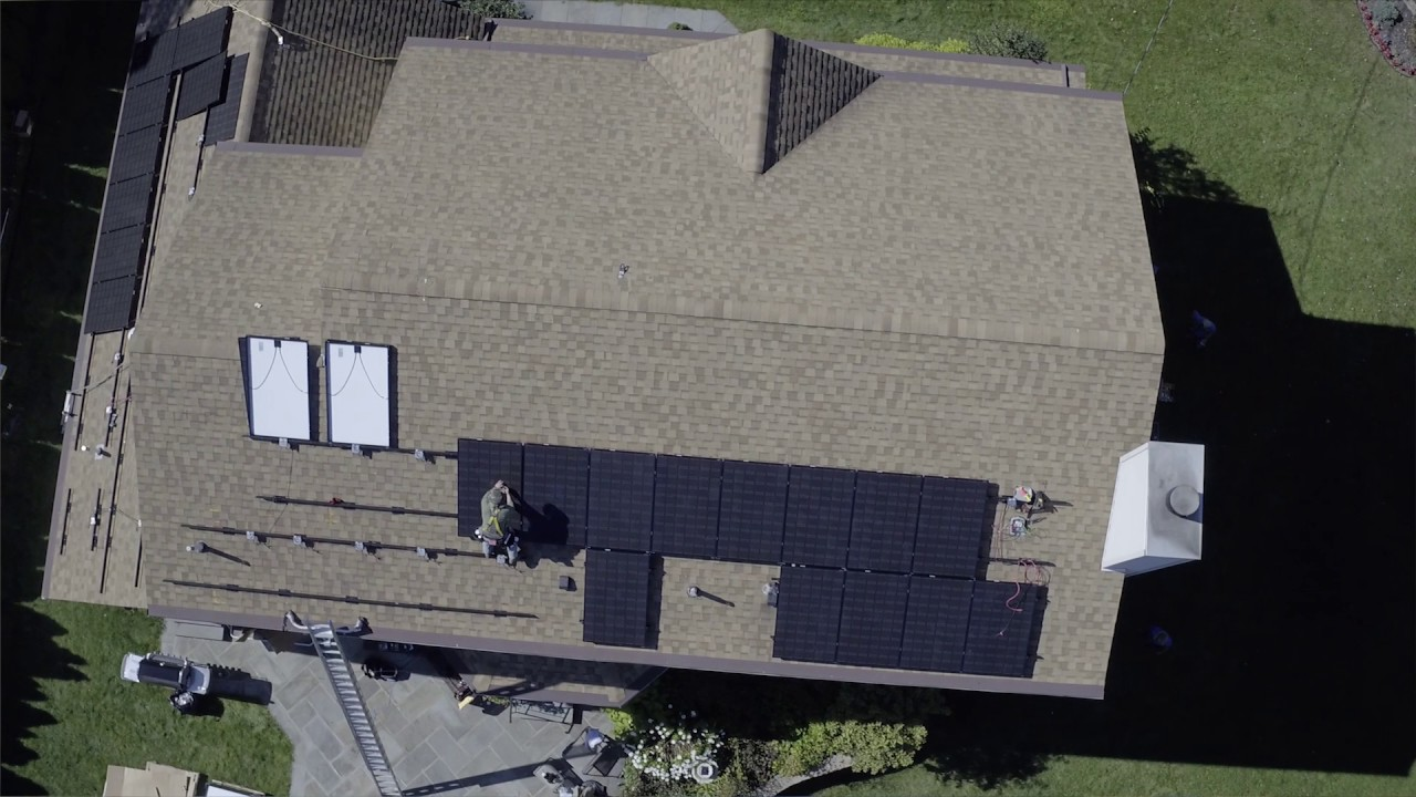 How are panels attached to my roof?