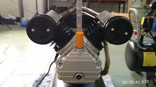 Производительность на пескоструе двух компрессоров