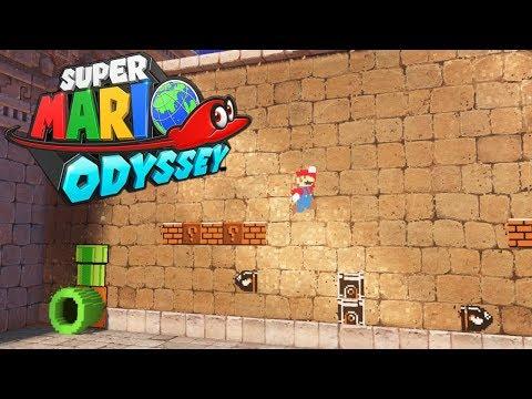 MARIO 2D EN UN JUEGO 3D | Super Mario Odyssey (En Español)