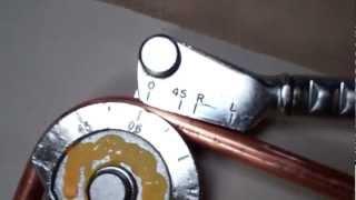"""HVAC Imperial Eastman 1/2"""" copper tube benders"""