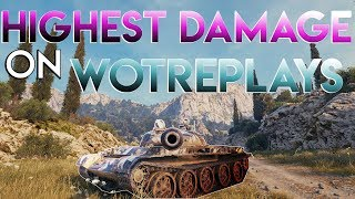 World of Tanks - THE HIGHEST DAMAGE T-62A GAME on WotReplays!