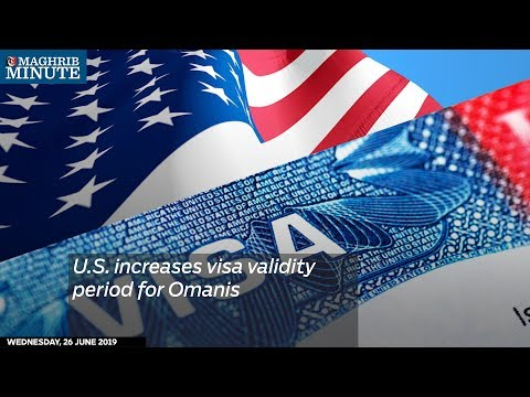 US increases visa validity period for Omanis